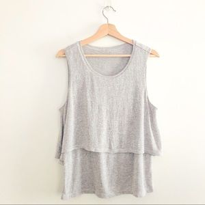 Juicy Couture Layered Tank Size Large